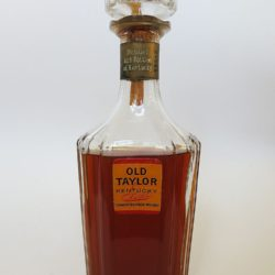 old taylor bourbon decanter 1965 - front