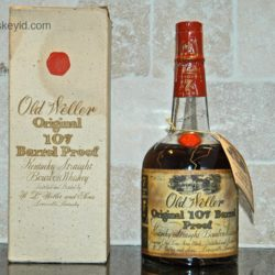 old weller original bourbon 107 proof 1972 front