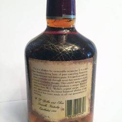 old_weller_original_107_proof_bourbon_7_year_1982_back