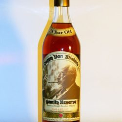 pappy van winkle 23 year straightbourbon.com single barrel 1 - front