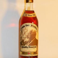 pappy van winkle 23 year straightbourbon.com single barrel - front