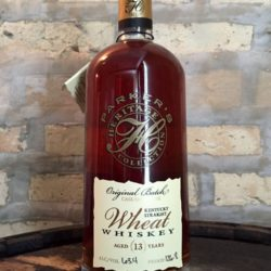 parker's heritage wheat whiskey 2014 front