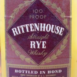 rittenhouse_rye_pennsylvania_bonded_1959_1965_half_pint_front_label