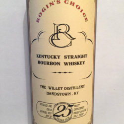 rogins_choice_willett_25_year_bourbon_front_label