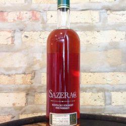 sazerac 18 year rye whiskey 2012 - front