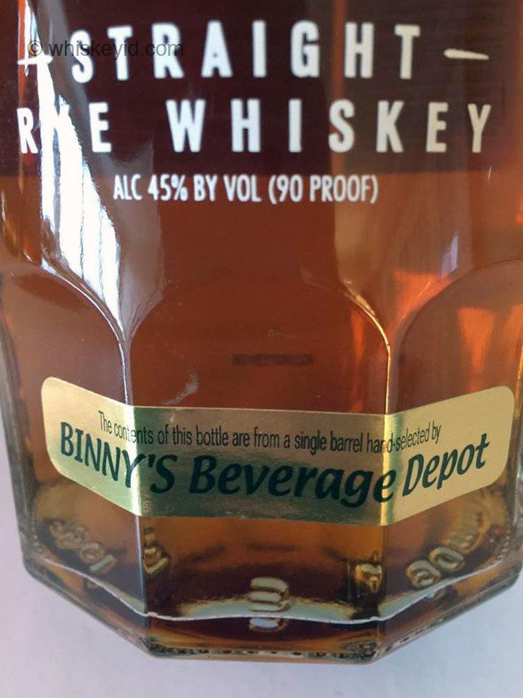 sazerac_rye_whiskey_binnys_single_barrel_2007_front_label