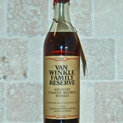 van winkle family reserve 14yr bourbon 1984 front