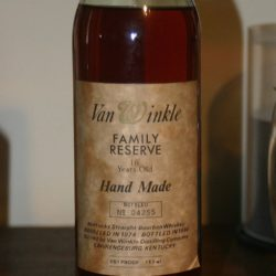 van winkle family reserve 16 year bourbon 1990 front