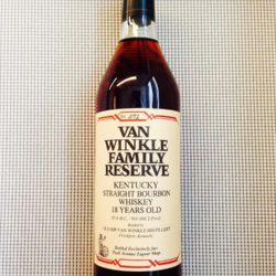 van winkle family reserve 18 year park avenue liquors front