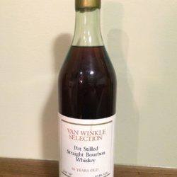 "van winkle selection bourbon - 16 year lot ""h"" - front"