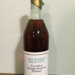 "van winkle selection bourbon - 17 year lot ""h"" - front"