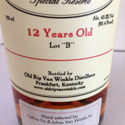 van_winkle_special_reserve_12_lot_b_julian_single_barrel_front_label