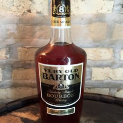 very old barton 8 year bourbon 1976 front