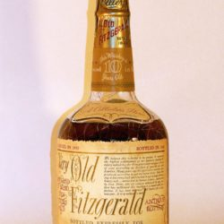 very old fitzgerald 10 year bourbon 1960 - front
