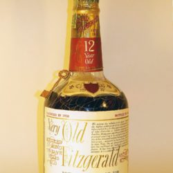very old fitzgerald 12 year bourbon 1962 - front