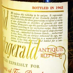 very_old_fitzgerald_12yr_1962_side1