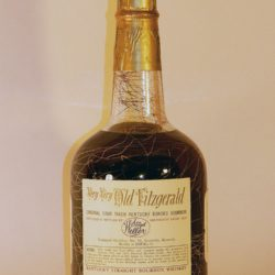very very old fitzgerald 14 year bourbon 1965 - back