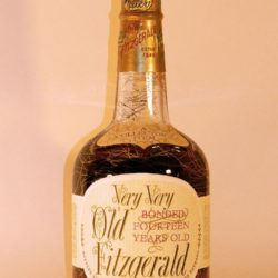 very very old fitzgerald 14 year bourbon 1965 - front
