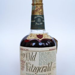 very old fitzgerald 8 year bourbon 1957-1965 front