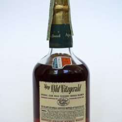 very old fitzgerald bourbon 1958 half pint back