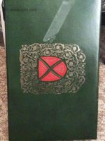 very old fitzgerald display box green