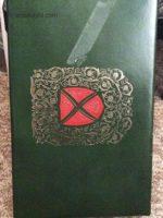 very old fitzgerald display box green