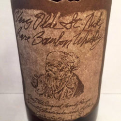 very_olde_st_nick_18_year_bourbon_front_label
