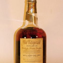 very rare old fitzgerald bourbon back
