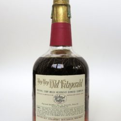 very very old fitzgerald 12year bourbon 1952-1964 back
