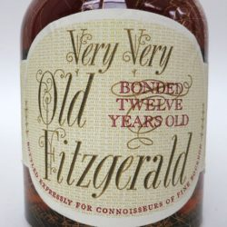 very very old fitzgerald 12year bourbon 1952-1964 front label