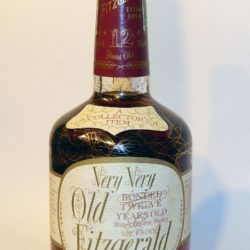 very very old fitzgerald bourbon 12 year 1978 - front