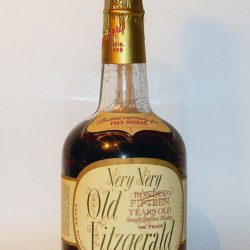 very very old fitzgerald bourbon 15 year 1971 - front