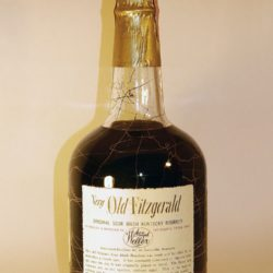 very very old fitzgerald 18 year bourbon 1969 - back