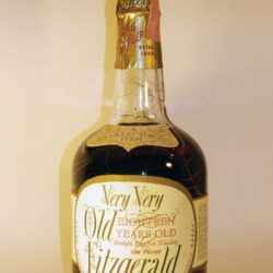 very very old fitzgerald 18 year bourbon 1969 - front