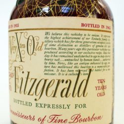 very_xtra_old_fitzgerald_10_bourbon_1965_front_label