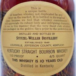 weller_antique_reserve_10_year_bourbon_110_proof_1962_back_label