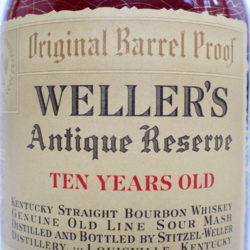 weller_antique_reserve_10_year_bourbon_110_proof_1962_front_label