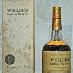 weller antique reserve bourbon 110 proof 1972 front