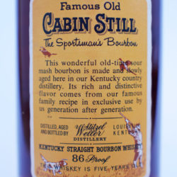 weller_cabin_still_5_year_bourbon_1971_back_label