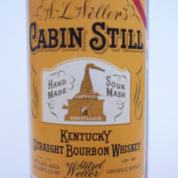 weller_cabin_still_5_year_bourbon_1971_front_label