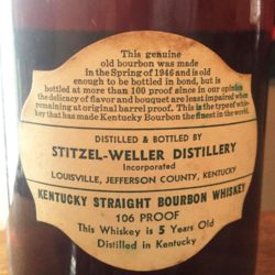 weller_original_5yr_106_proof_bourbon_1951_back_label