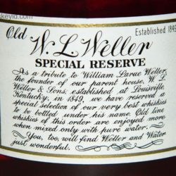 weller_special_reserve_1970_back_label