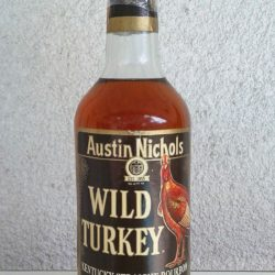 wild turkey bourbon 86.8 proof 1983 front