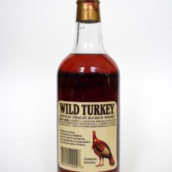 wild turkey 8year 101 proof 1991 back