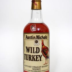 wild turkey 8year 101 proof 1991 front