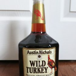 wild turkey 8 year 101 proof bourbon handle 1994 - front