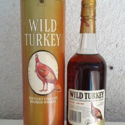 wild turkey 8 year 86.8 proof back