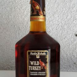 wild turkey bourbon handle 1983 front