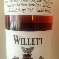 willet_8_year_bourbon_barrel_6823_suspension_bridge_front_label