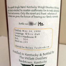 willett_11_year_bourbon_barrel_105_heinz_taubenheim_back_label